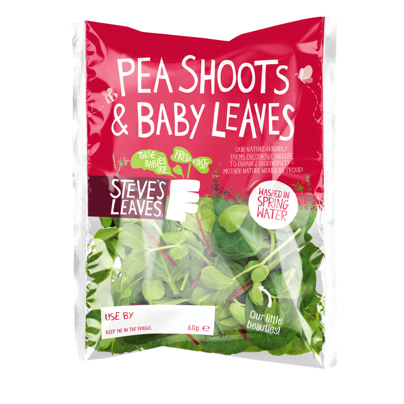 Pea Shoots & Baby Leaves Packaging Photo