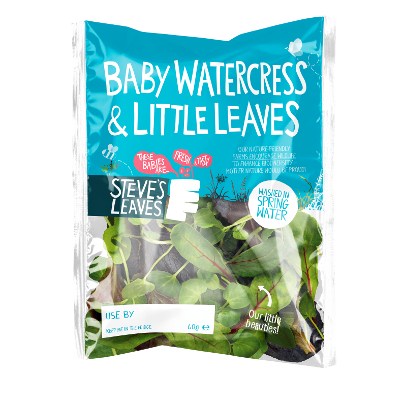 Baby Watercress & Little Leaves Packaging Photo